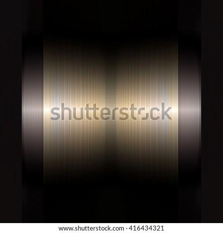 Turbine energy background - stock photo