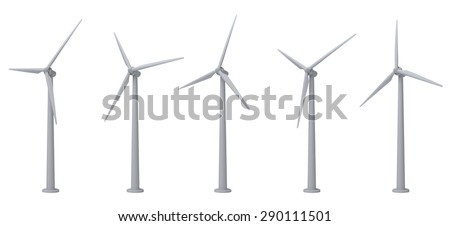 turbines - stock photo