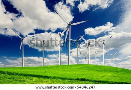 Turbines - stock photo