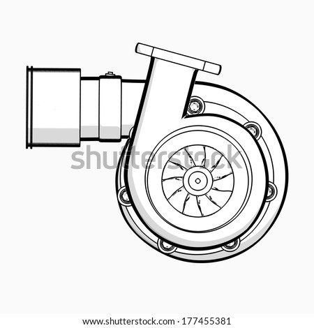 Search on turbocharger cartoon