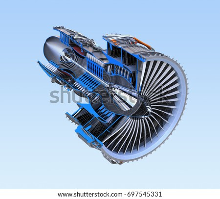 Turbofan Engine Stock Images Royalty Free Images
