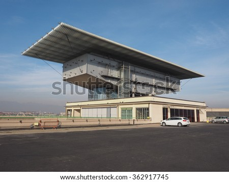 TURIN, ITALY - DECEMBER 16, 2015: Pinacoteca Agnelli art gallery designed by Renzo Piano at Lingotto former Fiat car factory