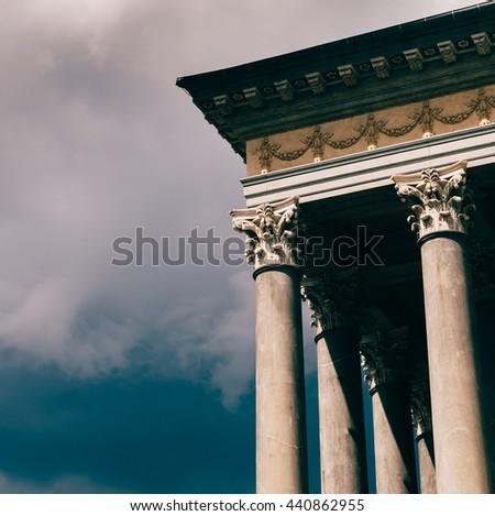 Turin, Italy, Europe - JUNE 17, 2016 . The Gran Madre di Dio Church in Turin. - stock photo
