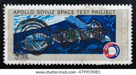 apollo soyuz space test project stamp - photo #8