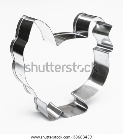 Turkey cookie cutter - stock photo