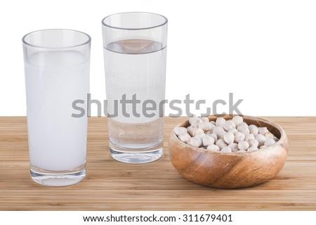 Turkish and Greek Traditional Drink Raki, Ouzo - stock photo