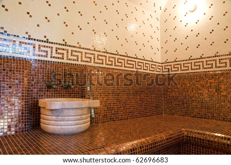 Turkish Bath With Ceramic Tile In Roman Style Part 62