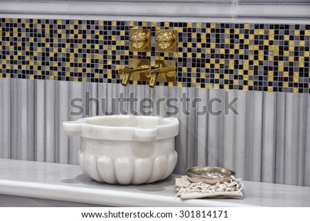 Turkish  Baths - stock photo