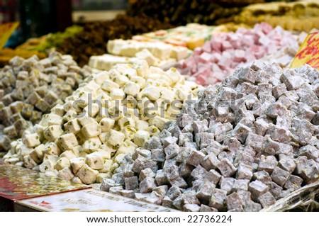 Turkish delight - stock photo