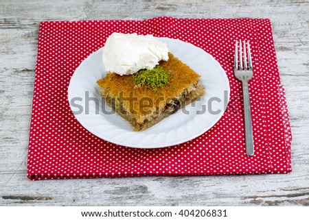 Turkish Desserts - stock photo