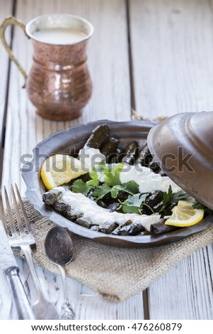 turkish dolmades