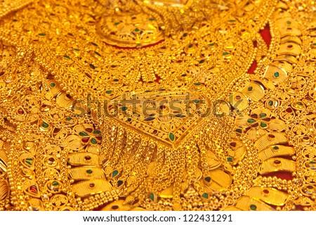Turkish jewelry - stock photo