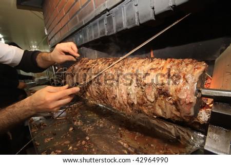 Turkish Kebab - stock photo