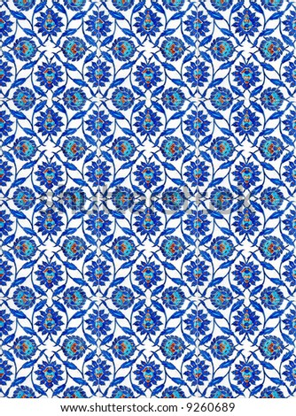 Turkish Tiles - stock photo