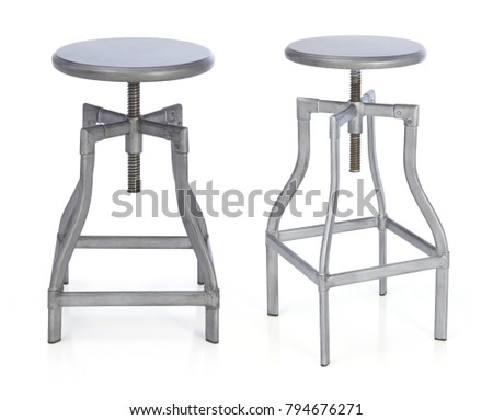 Peachy Vintage Barstool Stock Images Royalty Free Images Vectors Ncnpc Chair Design For Home Ncnpcorg