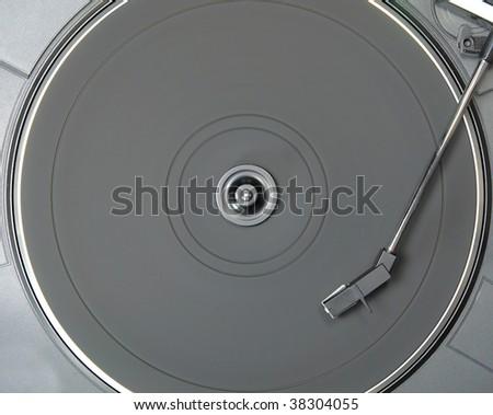 turntable - stock photo