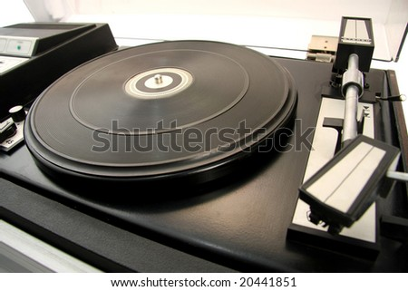 Turntable, music background 2 7