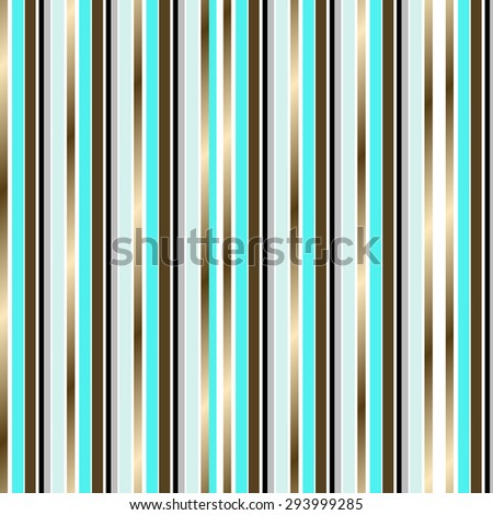 Turquoise and Gold Stripes Background