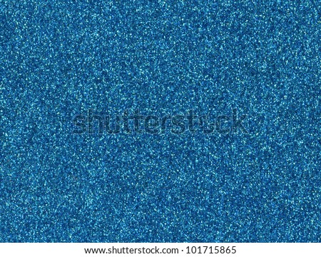 Turquoise blue color glitter texture background. - stock photo