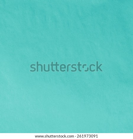 Turquoise Blue Paper Texture. Background - stock photo