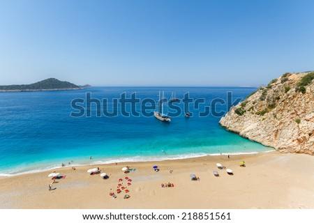 Turquoise Coast  - stock photo