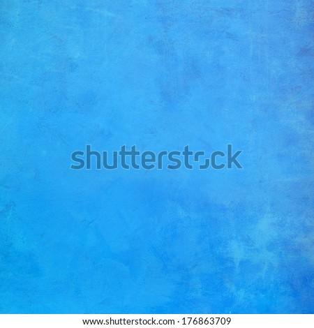 Turquoise grunge background - stock photo