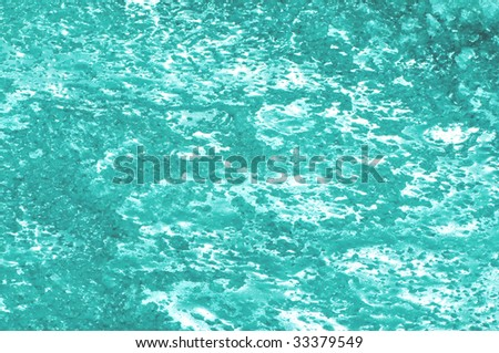 turquoise ice abstract background