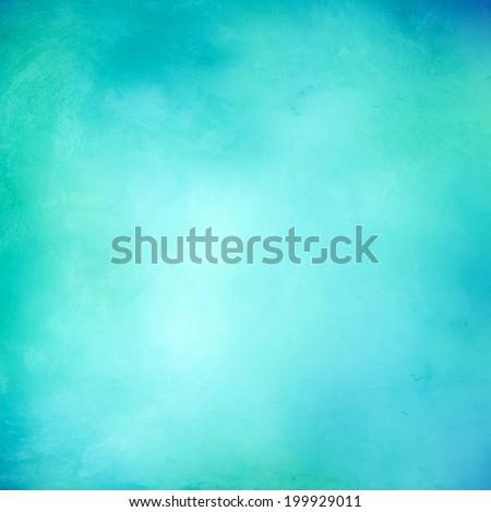 Turquoise soft background texture - stock photo