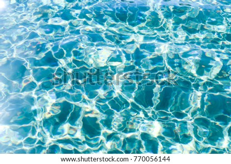 Turquoise Water Ripples Background Wallpaper