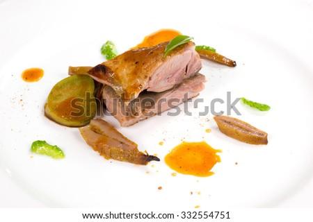 Tuscan chicken - stock photo