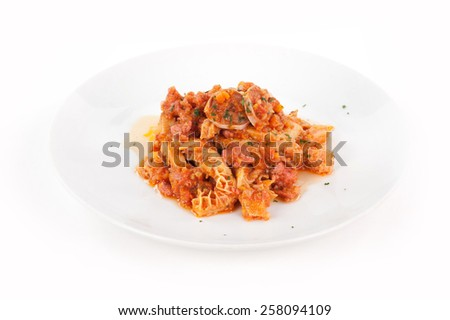 Tuscan tripe - stock photo
