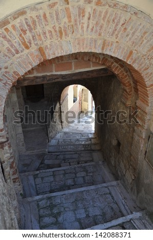 Tuscany, Cetona - stock photo