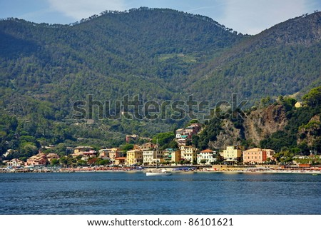 Tuscany in Italy, beautiful landscapes and beautiful locations - stock photo