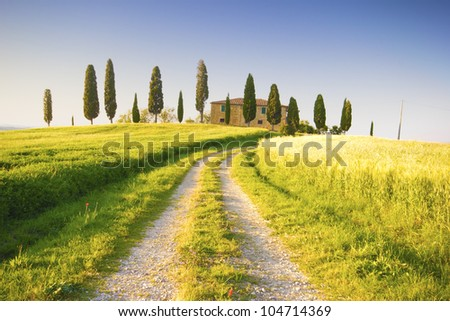 Tuscany, Italy - stock photo