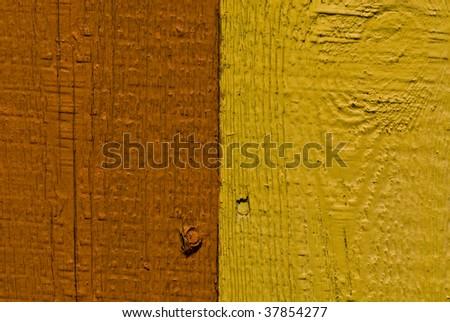 tutone fence - stock photo