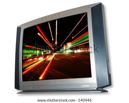 TV - stock photo