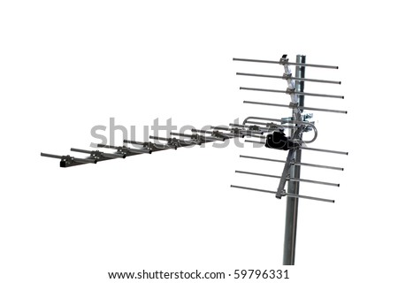 TV Antenna - stock photo
