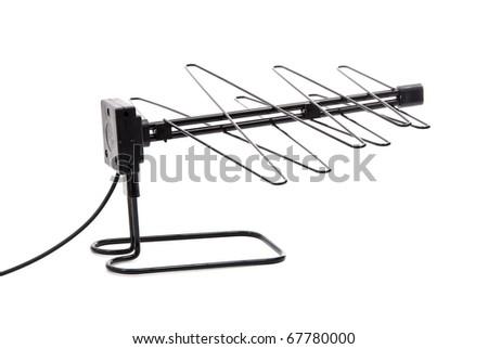 TV Antenna - stock photo