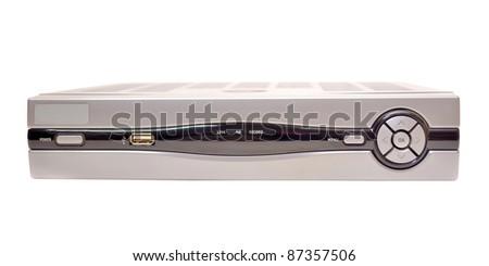 TV decoder for receiving IPTV - stock photo