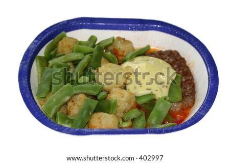 Tv Dinner - stock photo