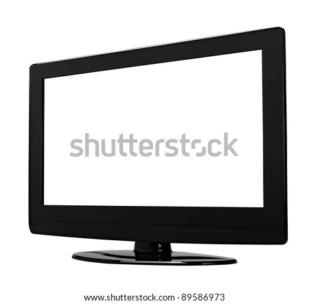 TV flat screen lcd, plasma.There is a path for the screen