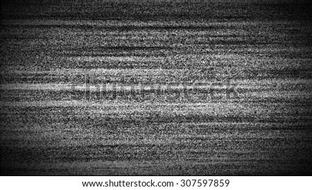 TV interference background - stock photo