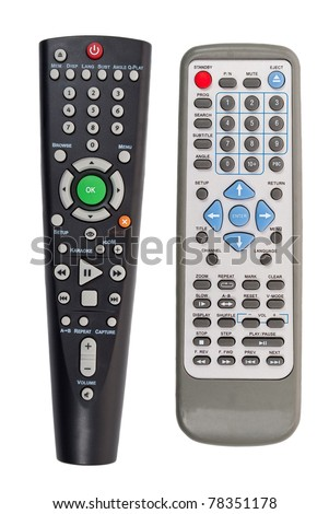 TV remote - stock photo
