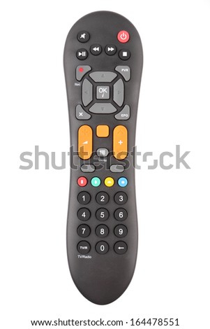 Tv remote control - stock photo