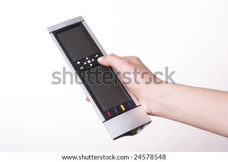 TV remote control sensor, which can cause any - stock photo