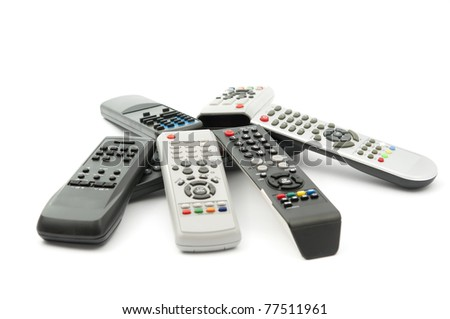 tv remote clipart no background. tv remote on a white background tv clipart no