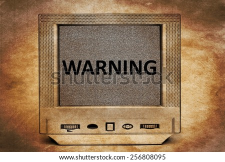 TV warning