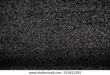 TV white noise background.