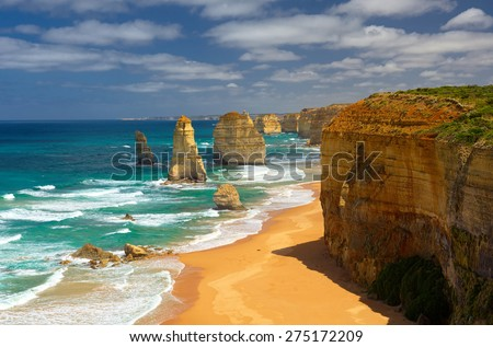 Twelve Apostles. Great Ocean Road. Australia.  - stock photo