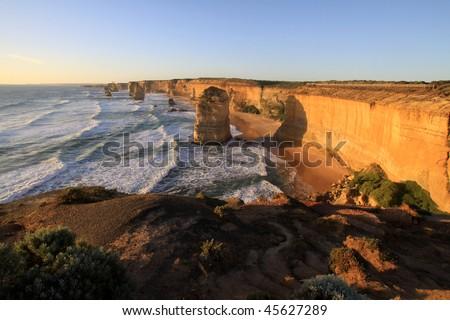 Twelve Apostles. Great Ocean Road. Australia - stock photo